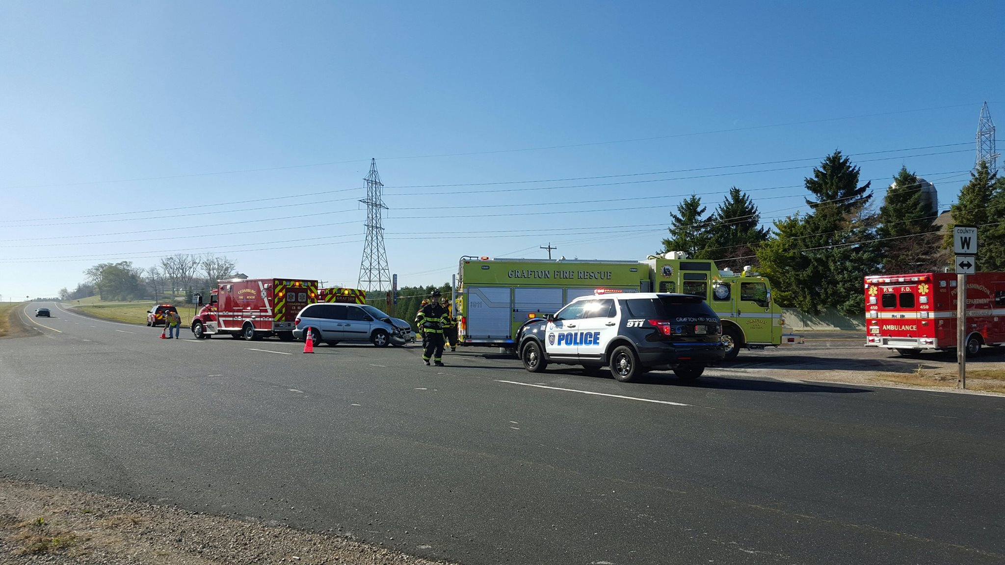 Car Accident In Grafton Wi
